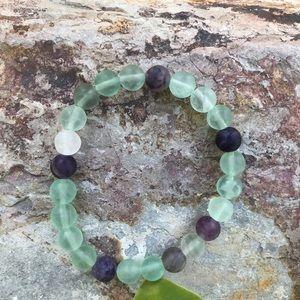 Jewelry - NWT. Genuine fluorite bracelet